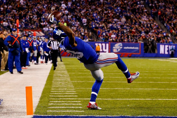 DESMOND: GIANTS' FUTURE NOT SO BLUE THANKS TO KING ODELL