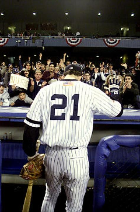 """The Warrior"" says farewell to Bronx faithful in his final game at Yankee Stadium."